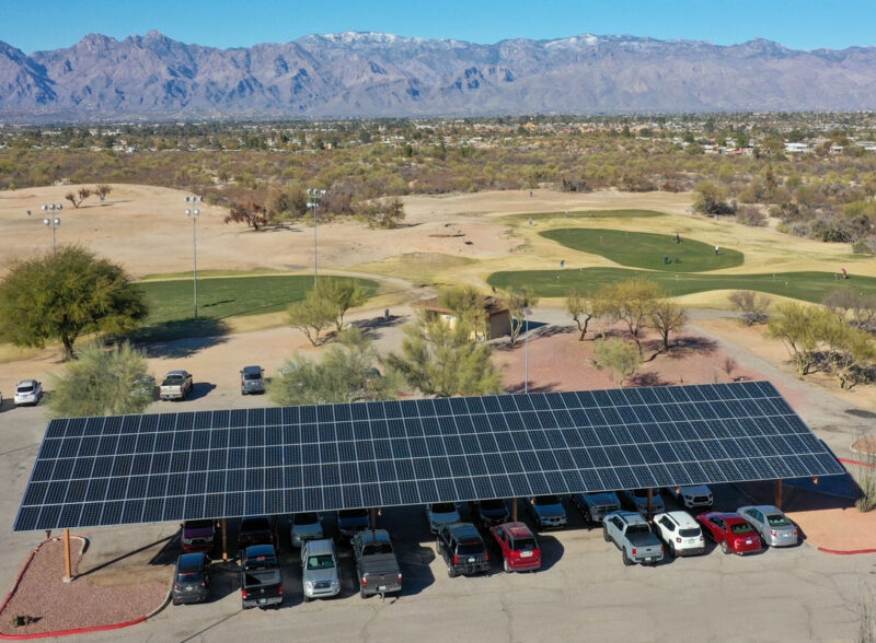Solar Project at Fred Enke Golf Course
