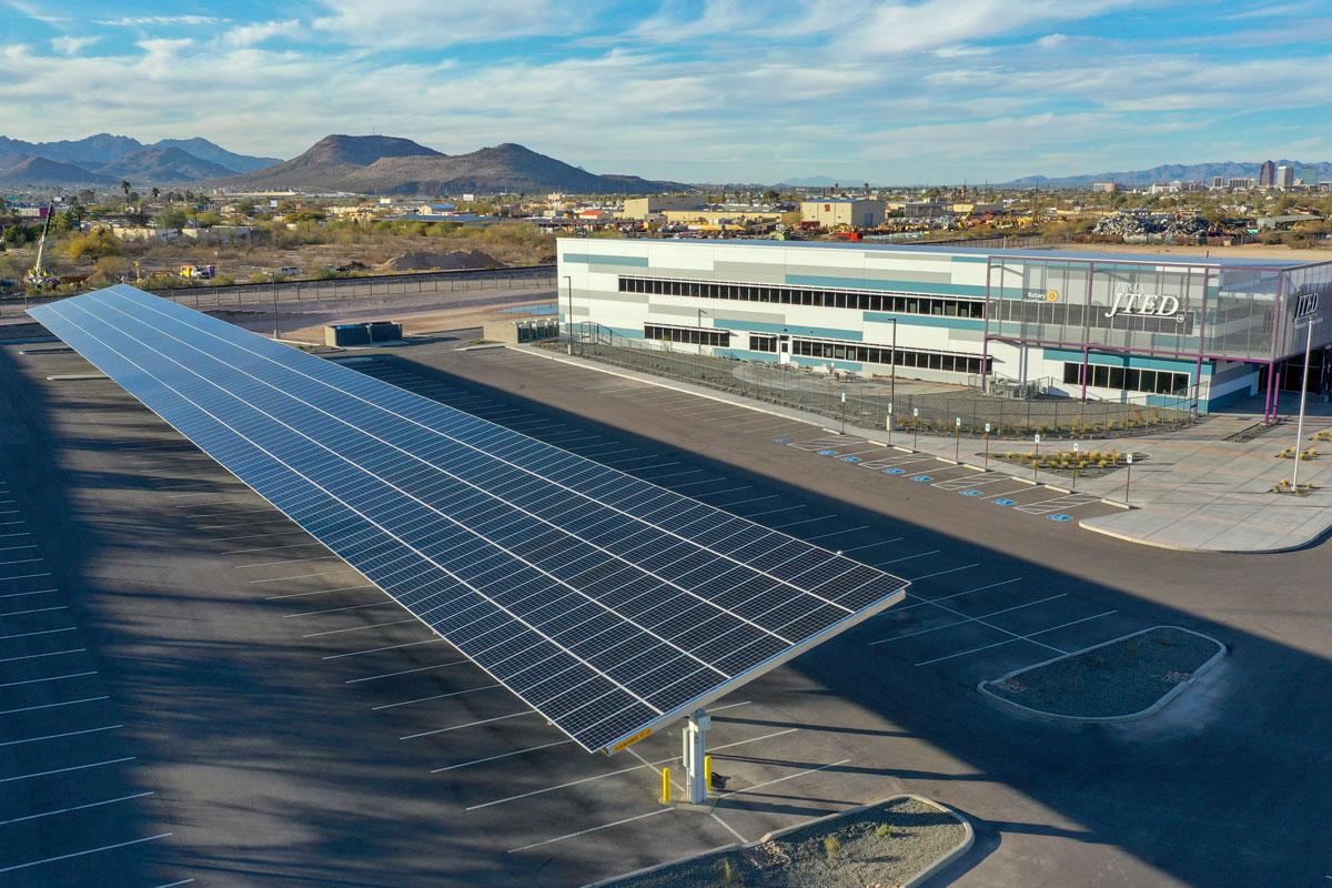 Pima JTED Solar Canopy